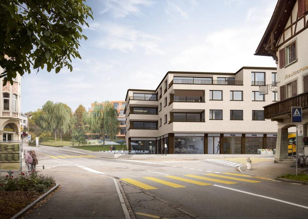 Rendering © Leutwyler Partner Architekten