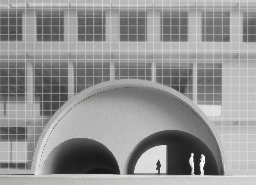 Modellfoto © Caruso St John Architects
